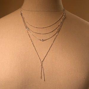 LC Lauren Conrad Silver necklace